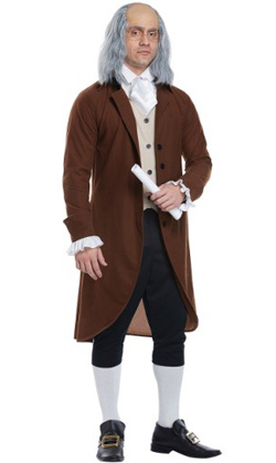 Benjamin Franklin Adult Costume