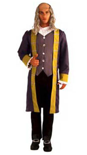New Ben Franklin Adult Halloween Costume Sale