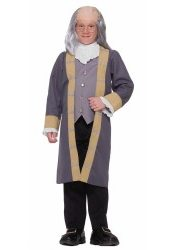 Boys Ben Franklin Halloween Costume