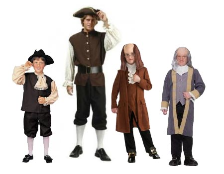 ben franklin costumes