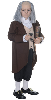 Franklin Colonial Boy Halloween Costume